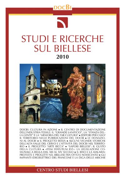 Studi e ricerche sul Biellese - Bollettino 2010