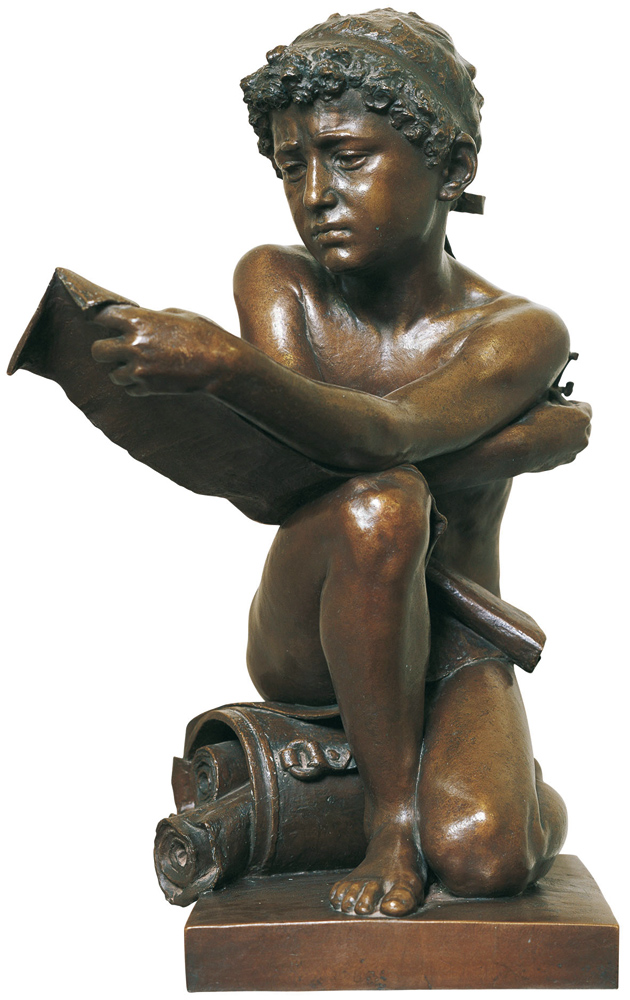 <b>Giacomo Ginotti, &quot;Euclide giovinetto&quot;</b><br />(Biella, Municipio)