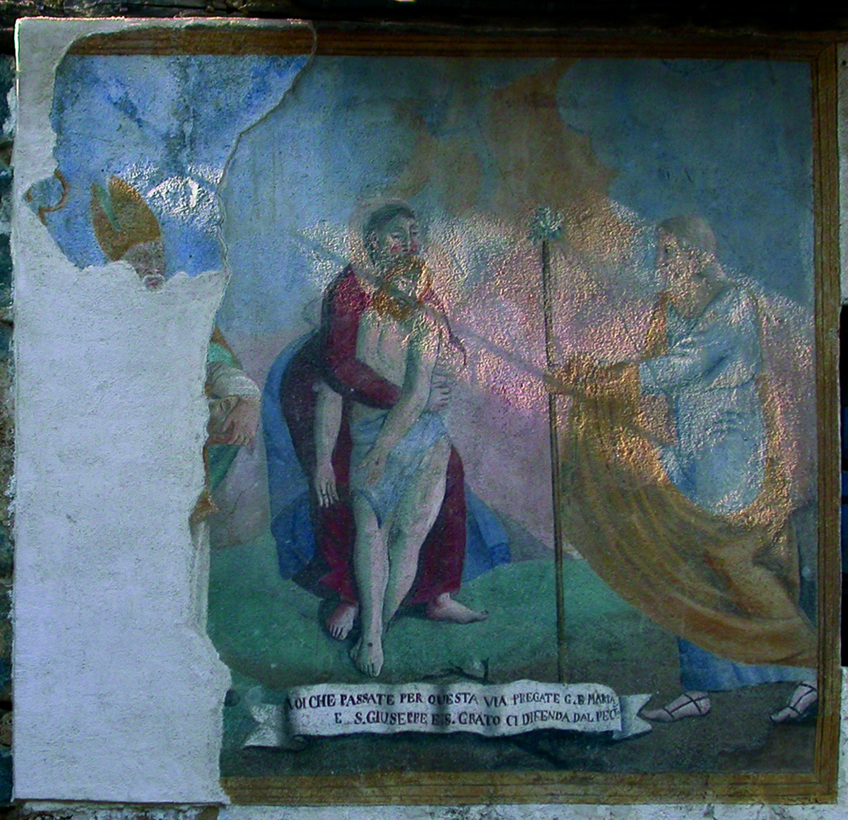 <b>Deposizione</b><br />(Camandona, fraz. Cerale, via S. Falletti 30)