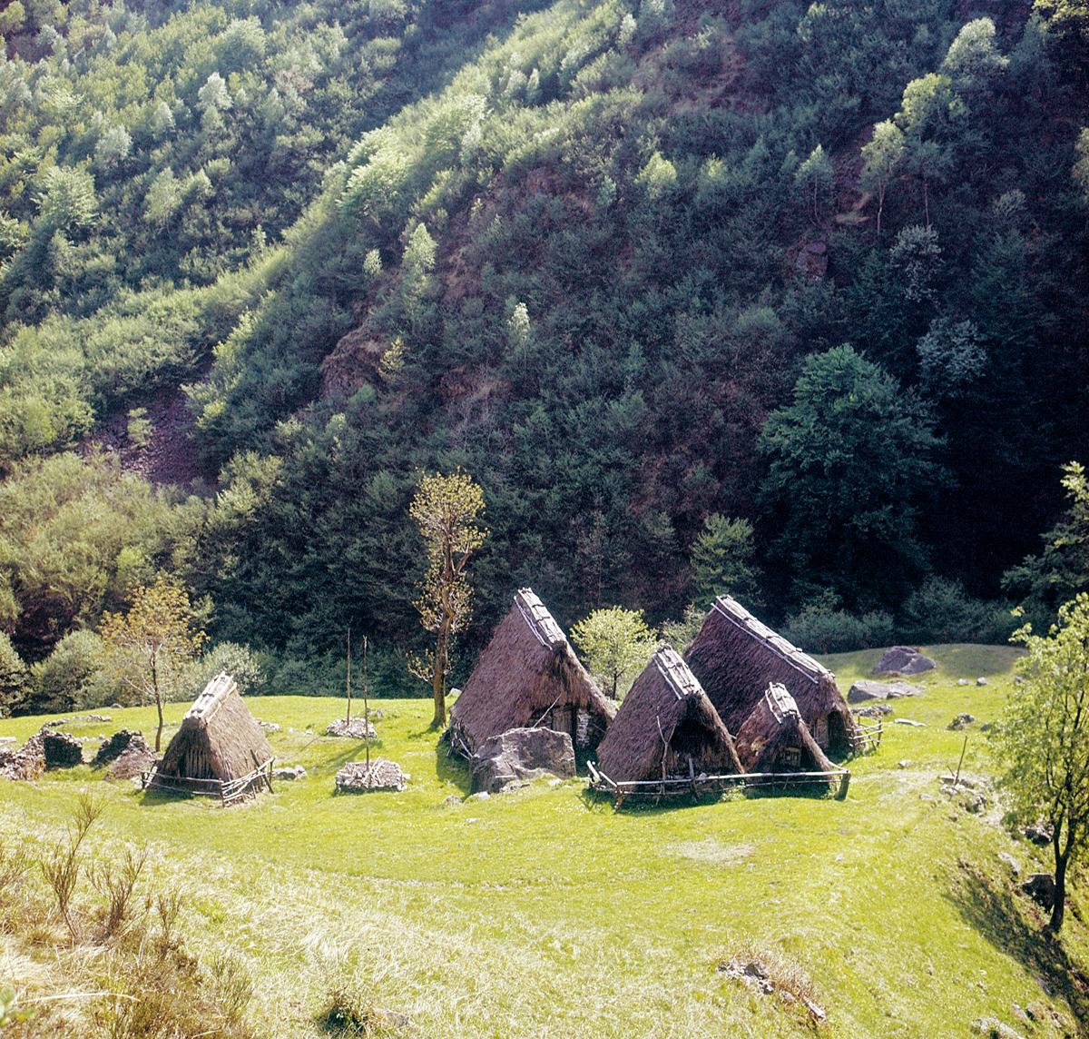 <b>Alta Valsessera, Alp Cascinal</b><br />foto Alfonso Sella, 1965