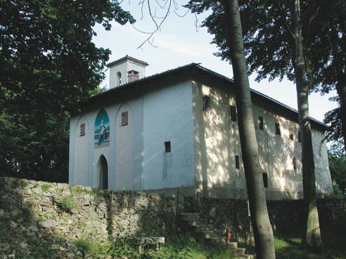 <b>Camandona, il santuario del Mazzucco</b><br />