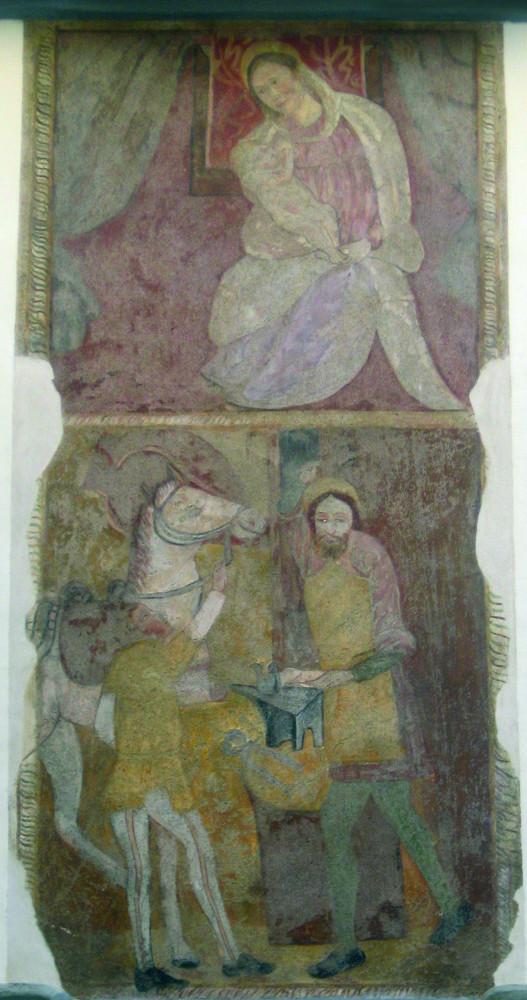 <b>Madonna del Latte e Sant'Eligio</b><br />(Crevacuore, via Cavour 13)