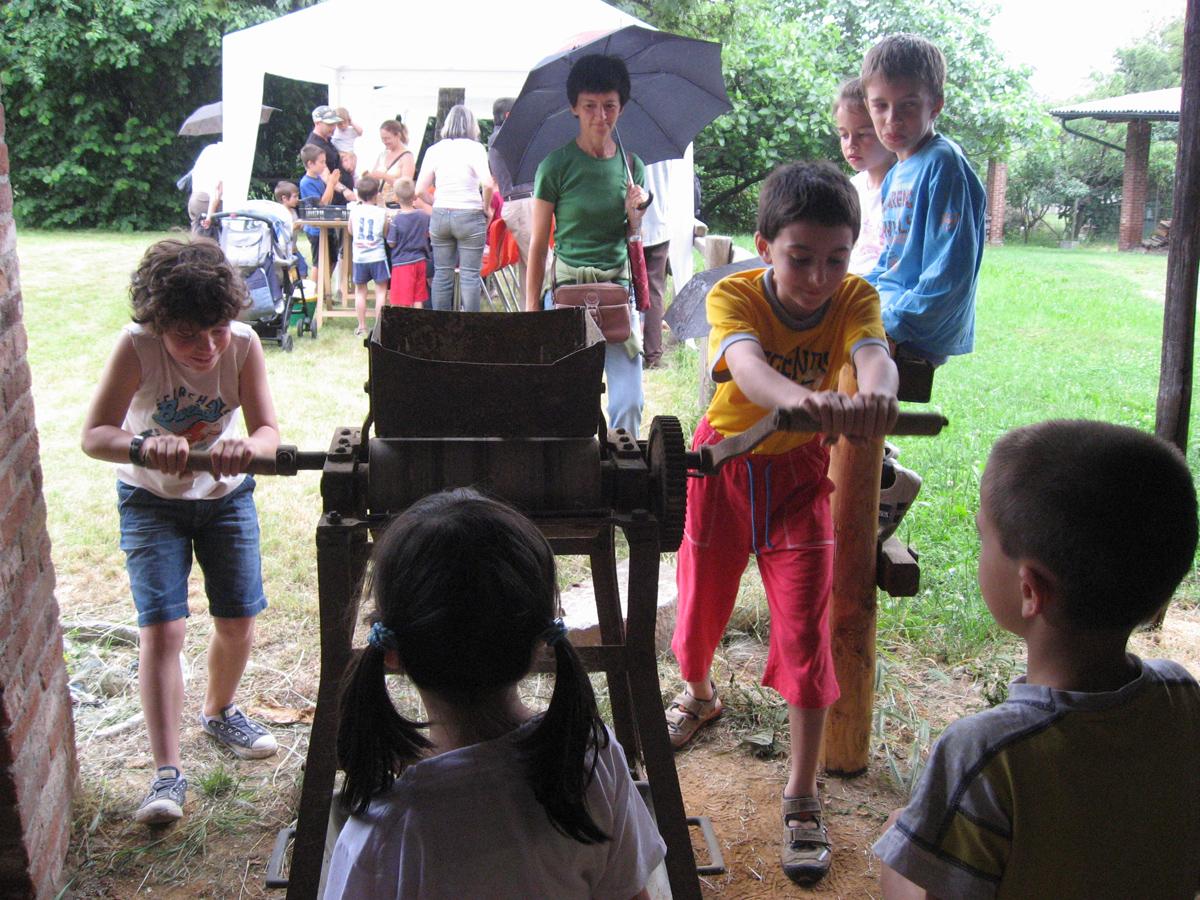 <b>Visita guidata di DocBimbi a Ronco, 2010</b><br />