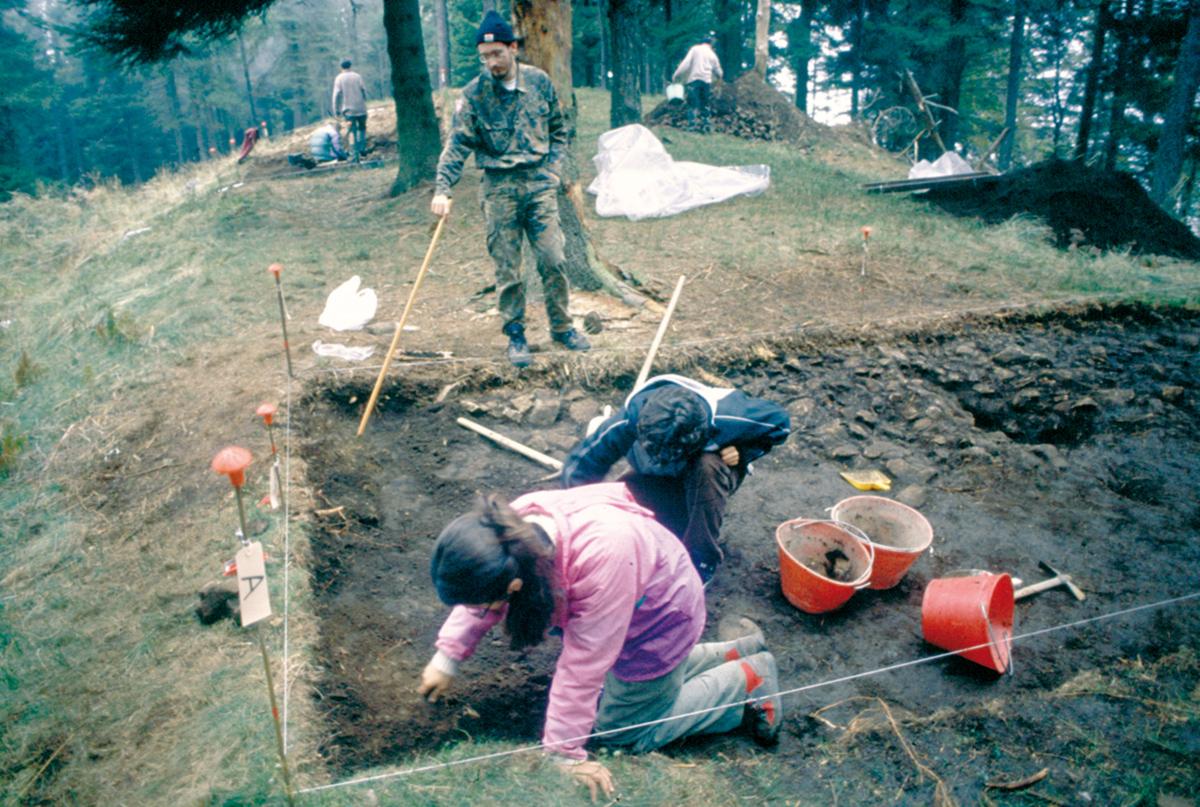 <b>Alta Valsessera, scavo delle fortificazioni antidolciniane</b><br />