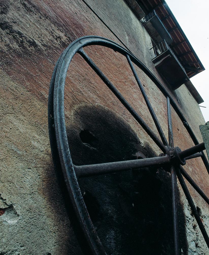 <b>Pray Biellese, &quot;Fabbrica della ruota&quot;; la ruota esterna</b><br />