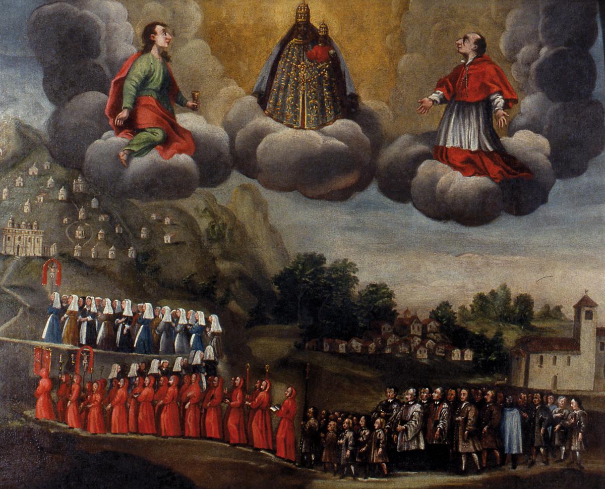 <b>Ex voto, 1720</b><br />(Graglia, Santuario)