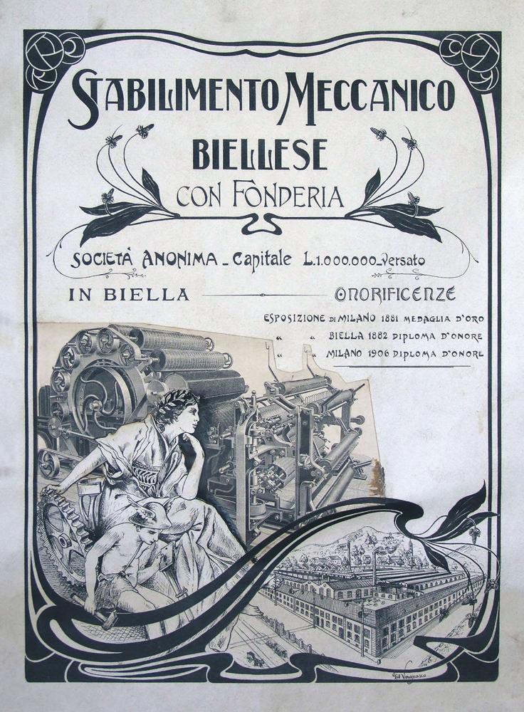 <b>Manifesto dello Stabilimento Meccanico Biellese</b><br />(Archivio DocBi)