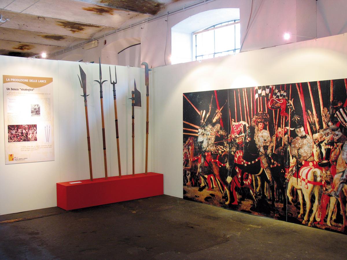 <b>&quot;Fabbrica della ruota&quot;, allestimento della mostra &quot;Aquile, argento, carbone&quot;</b><br />foto Giovanni Vachino, 2007