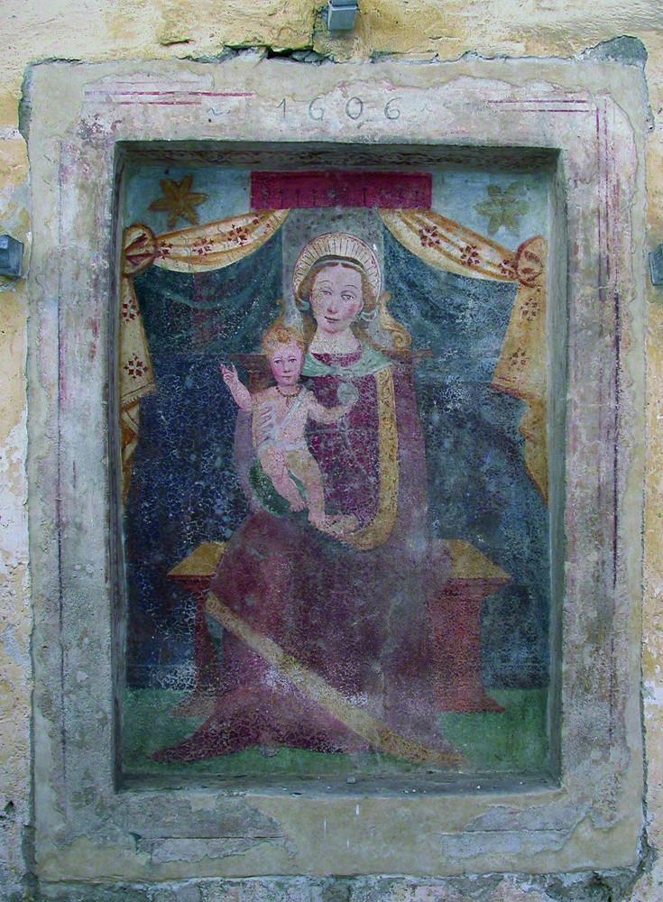 <b>Madonna in trono con Bambino</b><br />(Quittengo, Oriomosso)
