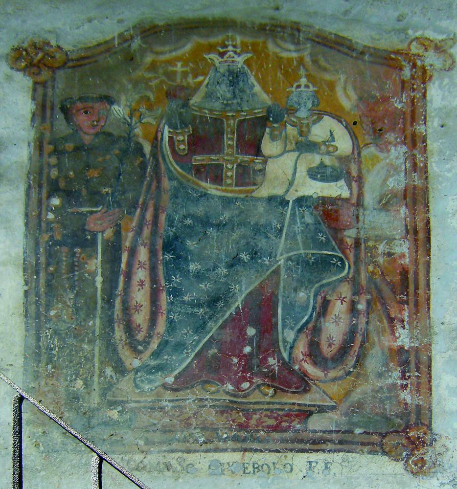 <b>Madonna di Oropa e santi</b><br />(Roasio, fraz. S. Giorgio)