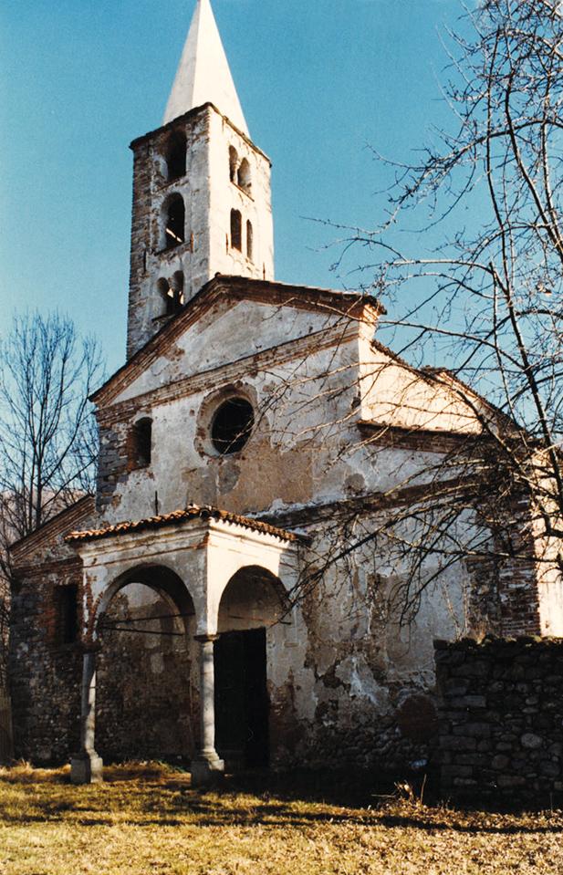<b>Tollegno, la chiesa di San Germano</b><br />