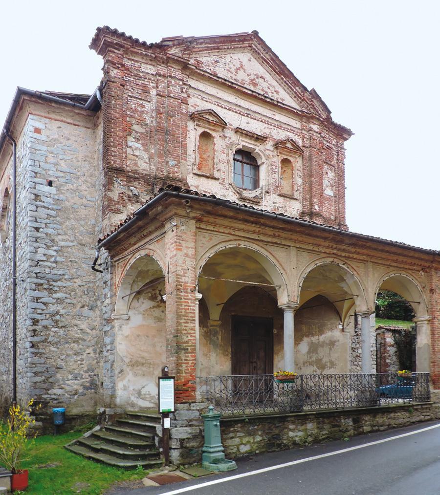 <b>Pettinengo (fraz. Livera), l&#039;oratorio di San Rocco</b><br />
