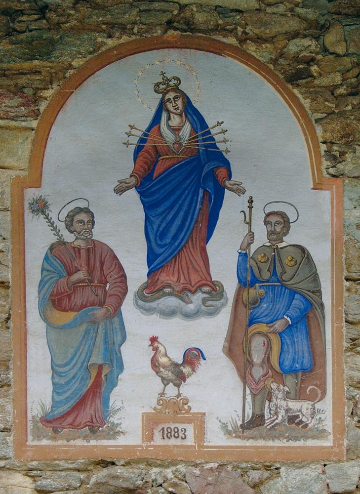 <b>Madonna Addolorata e santi</b><br />(Sordevolo, Pian dell'asino)
