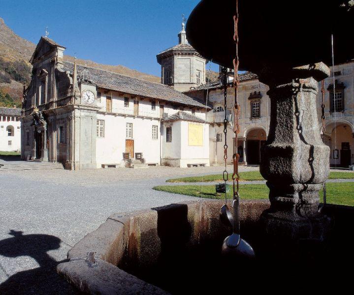 <b>Santuario di Oropa, il &quot;burnell&quot;</b><br />