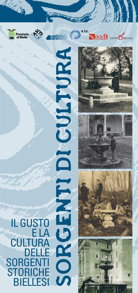 <b>Il pieghevole dedicato al progetto &quot;Sorgenti di cultura&quot; pubblicato nel 2008</b><br />