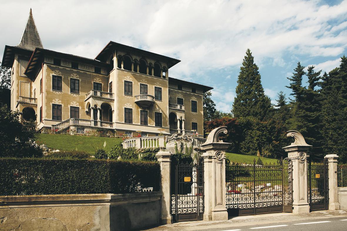 <b>Ponzone, villa Giletti</b><br />foto Lyle Roblin